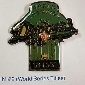 VTG DODGERS/UNOCAL 76 World Series Title 63-65-81